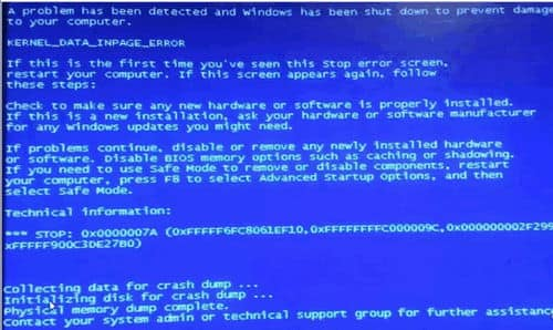 Fix Blue Screen of Death Physical Memory Dump Windows 10 (1)