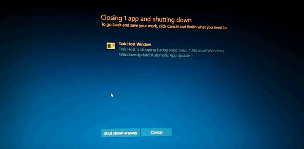Fix Task Host Window Prevents Shut Down in Windows 10