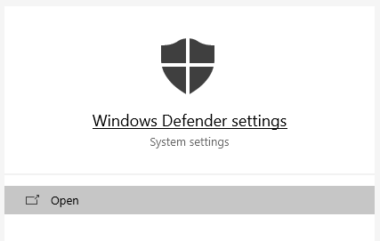 Fix Windows Defender won't Start in Windows 10