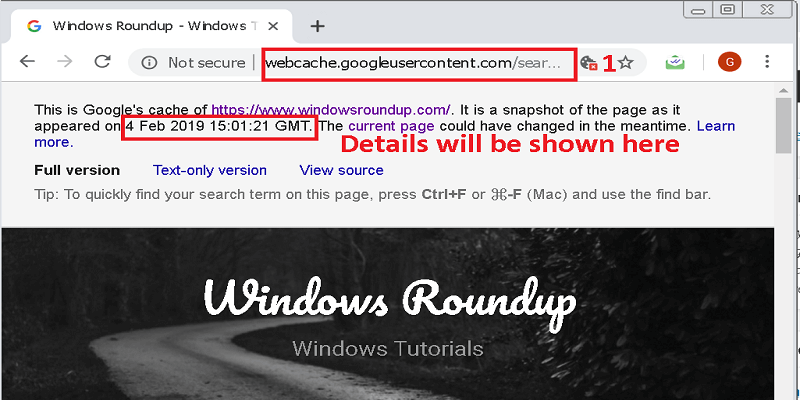 How To Find Out When A Website Was Last Updated Chrome
