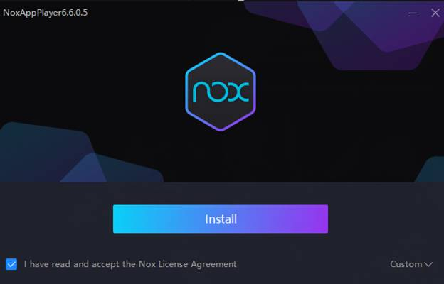 Install nox player